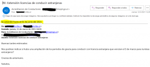 email extension