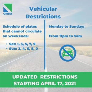 vehicular restrictions
