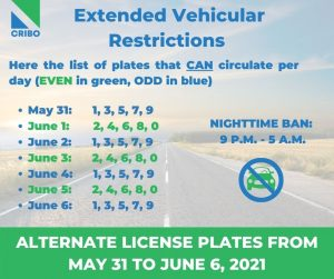 driving restrictions